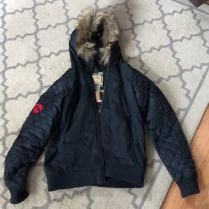 Burton Married to the Mob bomber jacket